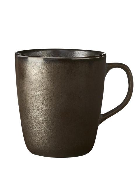 aida - RAW Metallic Brown, krus med hank, 30 cl, vejl. pris 79,- DKK
