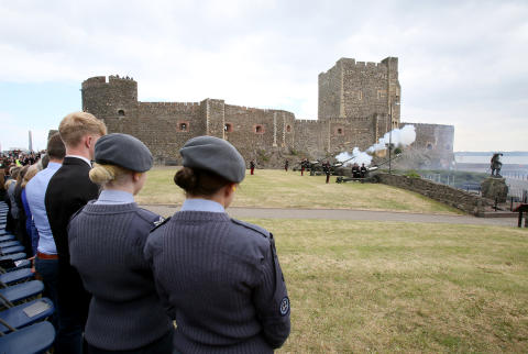 Crowds expected in Carrickfergus for Queen's 93rd birthday gun salute