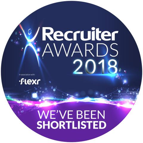 Finegreen shortlisted as finalists at the Recruiter Awards 2018!