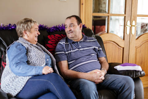 Dundonald stroke survivor adds their voice to Lost for Words campaign