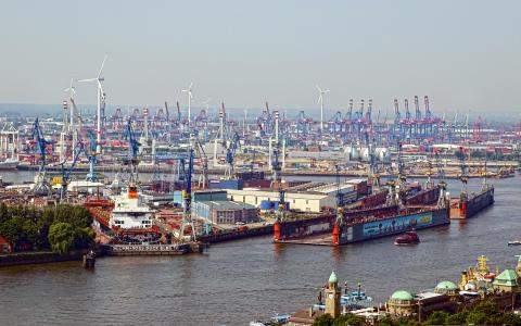 Studietur om fremtidens sjøfart