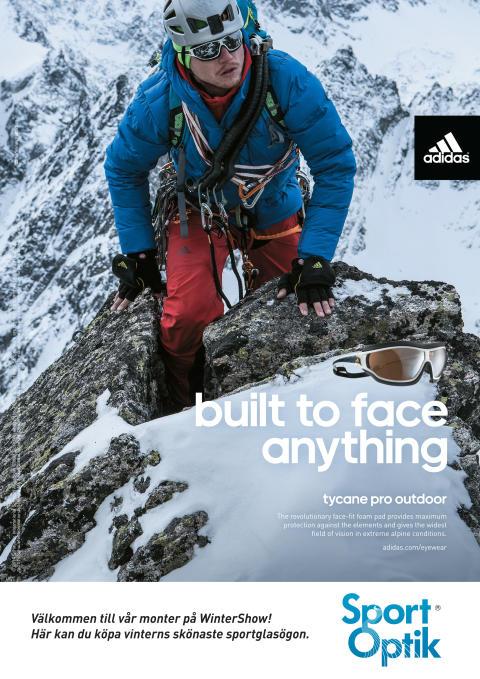Adidas Eyewear & SportOptik i unikt samarbete om slipade sportglasögon!