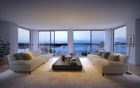 Skanska investerar cirka 600 miljoner kronor i flerbostadshus vid Nacka Strand, Stockholm