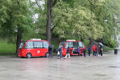 Oppstart av selvkjørende busser ved Kontraskjæret