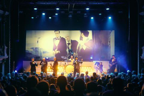 Isaac & The Soul Company tar över Gröna Lund på lördag!