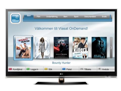 Sport, film och serier på dina villkor när Viasat OnDemand lanseras i LG:s TV-apparater