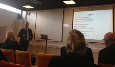 Business Opportunities in Hong Kong for Swedish Companies
