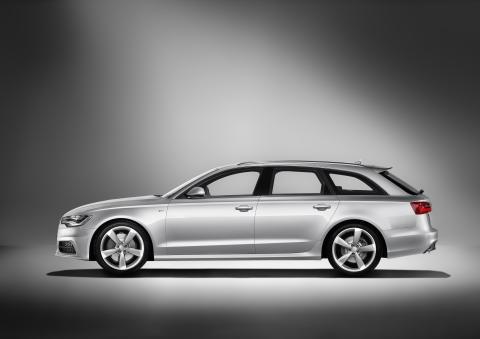 Sverigepremiär för Audi A6 Avant under Stena Match Cup Sweden på Marstrand