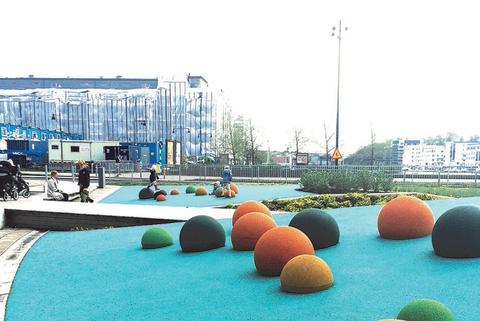 Snygg, trygg och jämställd aktivitetspark