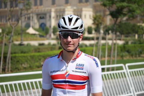 Håkon Lunder Aalrust under sykkel-VM 2016