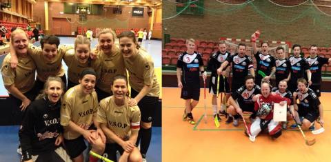 Östtorps VVS och V.S.O.P GG vann Sweden Floorball Cup i Norrköping