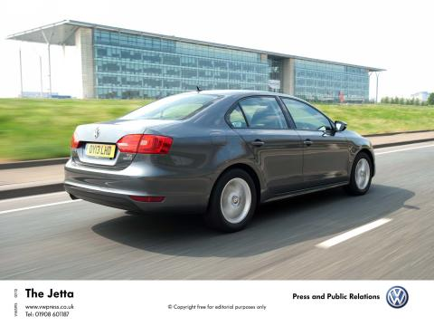 The Volkswagen Jetta Limited Edition - perfect for a holiday Jet-away
