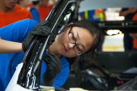 Volvo Car Group startar serieproduktionen av Volvo S60L på Chengdus tillverkningsfabrik
