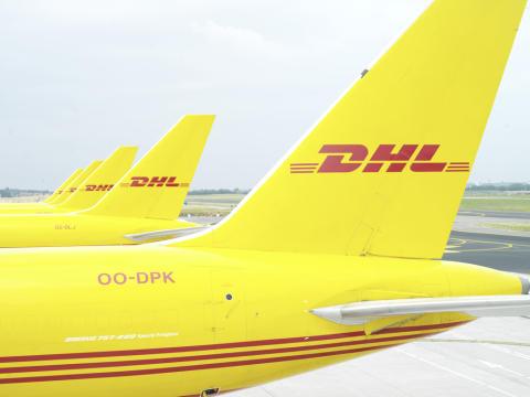 DHL Express inviger det utökade globala navet vid Cincinnati/Northern Kentucky flygplats