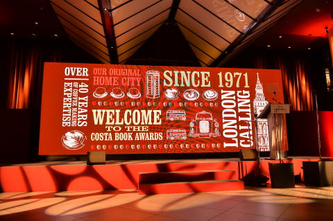 Costa Book Awards 2015 : The Stage is set