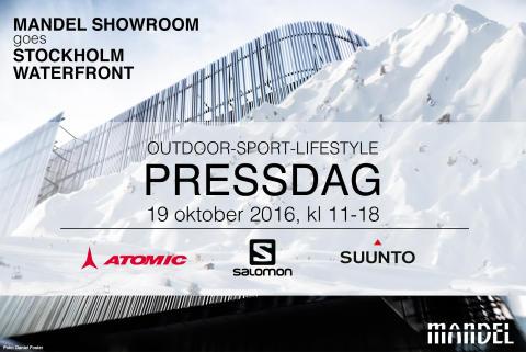 Träffa Salomon, Atomic och Suunto på MANDEL Showroom i morgon!