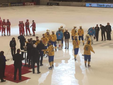 Grattis Sverige och Q-gruppens egna bandyhjälte till VM-guldet i Bandy