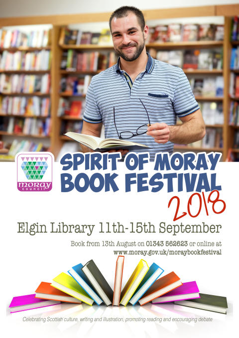 Tickets on sale for Spirit of Moray Book Festival