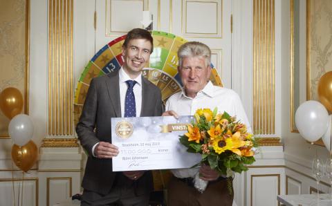 Björn från Nyköping snurrade fram 1,5 miljoner kronor