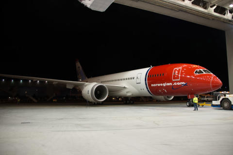 Norwegian will operate the 787 Dreamliner on European routes this summer