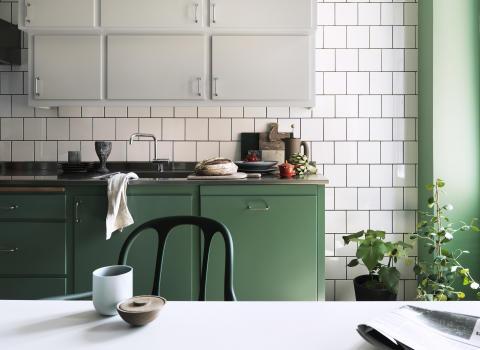Alcro målat kök
