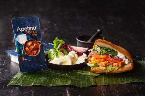Apetina yhteistyöhön Street Gastron kanssa – Paneer-sandwich kannustaa maaliskuun ajan fleksaukseen
