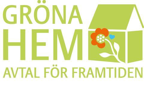 Logotyp för Gröna Hem - Avtal för framtiden