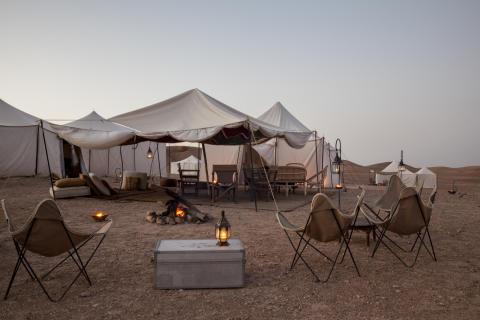 Scarabeo Camp, Marocko.