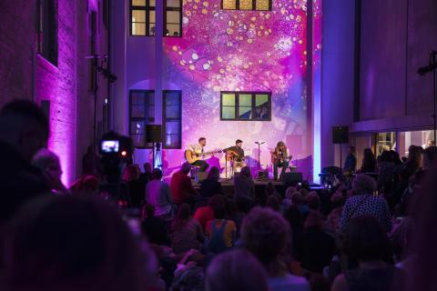 Skissernas Night Ali Sabah Trio på Skissernas Museum