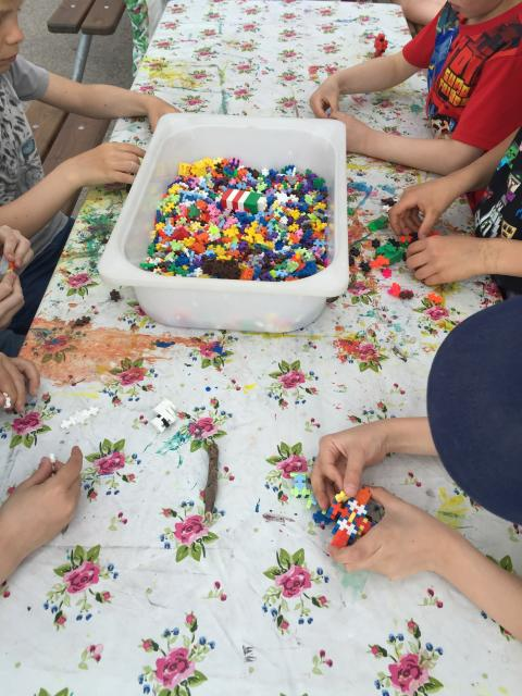 Fritidshemmens dag på Myrängsskolan   Bild