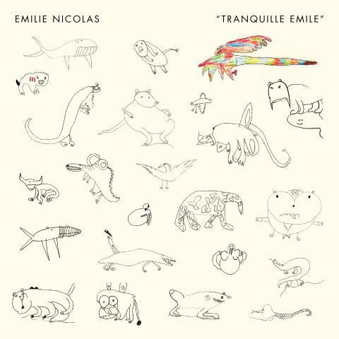 """Emilie Nicolas / Album Artwork / """"Tranquille Emile"""""""