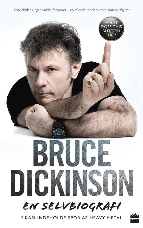 """""""Selvbiografi af forsangeren fra Iron Maiden Bruce Dickinson"""""""