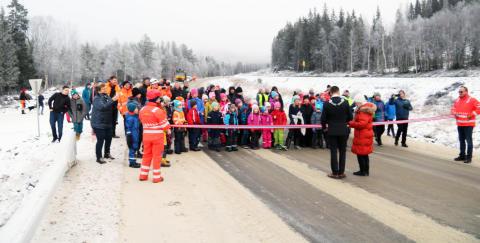 Peab i mål med bru- og veiprosjekt i Namsskogan