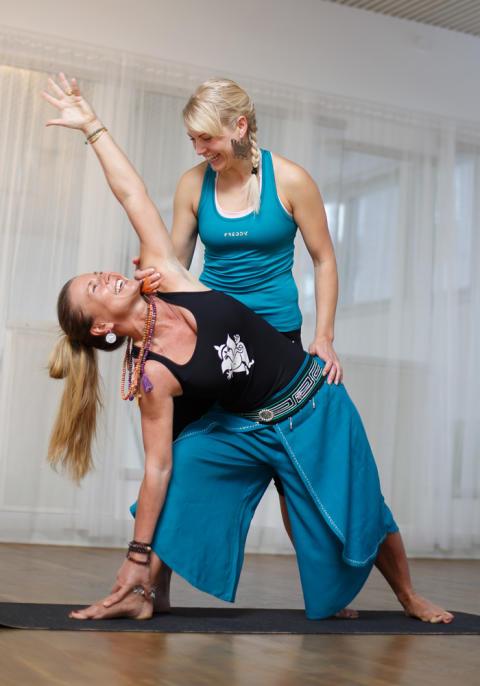 Yogakonvent i storformat på Svenska Mässan, Göteborg