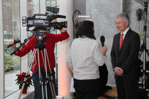 SINFONIMA Adventsmatinée - RNF interviewt Jürgen Wörner