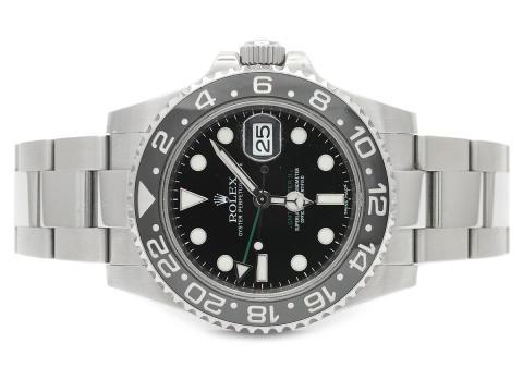Klockor 4/10, Nr: 172, ROLEX, Oyster Perpetual Date, GMT-Master II