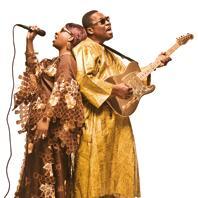 Amadou & Mariam på Konserthuset 3 mars - fullsatt hus!