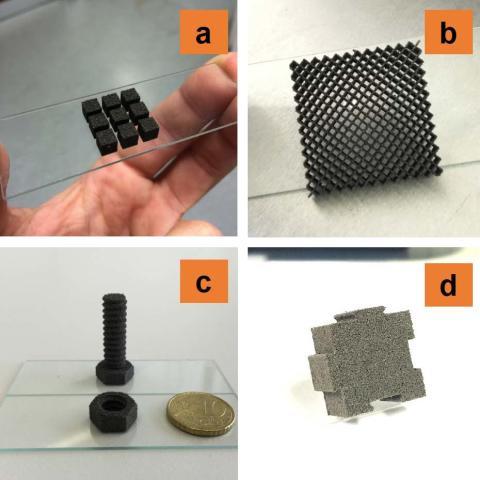 Användningsområden för 3D-printat månstoft