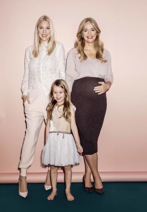 Årets stilmamas: Ebba Kleberg von Sydow och Emilia de Poret