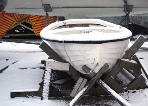 Joka kolmas venevahinko sattuu talvella