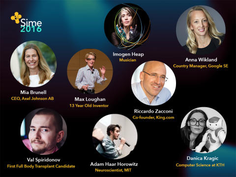 Some of Sime Stockholm's speakers 2016