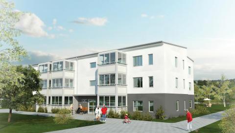 Nytt trygghetsboende i södra Bomhus med fantastisk utemiljö