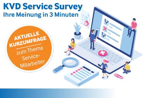 Aktuelle KVD-Kurzumfrage zu Herausforderungen für Servicemitarbeiter im technischen Kundendienst