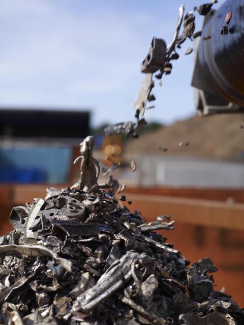 Stena storsatsar på återvinning i Huddinge