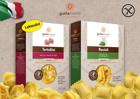 GustaMente - färsk glutenfri pasta från Italien