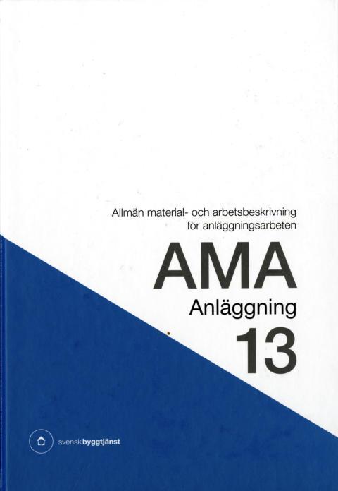 AMA Anläggning 13