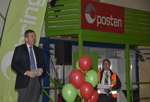 Åpning av Posten og Brings Drammensterminal
