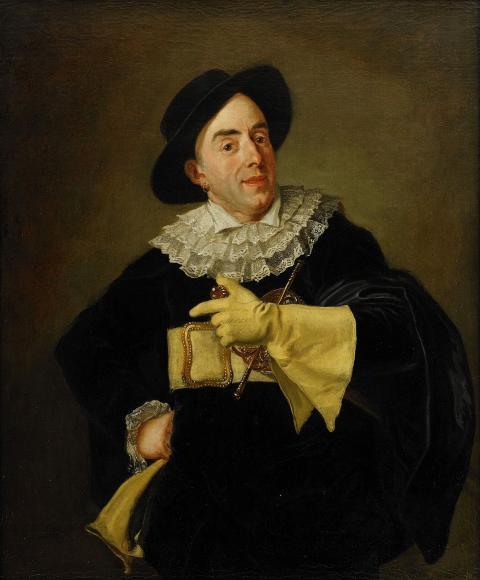 3057. Carl Fredrik von Breda, Skådespelaren Saint-Ange