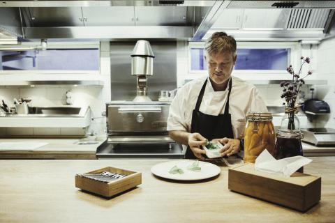 Chef Mathias Dahlgren invites guests into two Michelin-star kitchen at Grand Hôtel, Stockholm