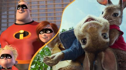 Animerade filmer som kommer 2018